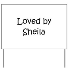 Cute Sheila Yard Sign