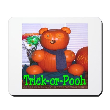 Trick-or-Pooh by T. Smith Mousepad