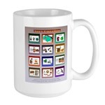 Very Puzzling rebus puzzles Large Mug