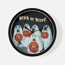 Wrick or Wreet Wall Clock