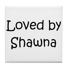 Cute Shawna Tile Coaster