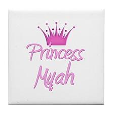 Princess Myah Tile Coaster