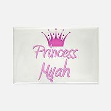 Princess Myah Rectangle Magnet