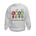 Let's Get Along Kids Sweatshirt