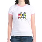 Let's Get Along Jr. Ringer T-Shirt