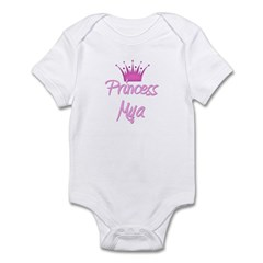 Princess Mya Infant Bodysuit