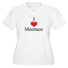 I Love (Heart) Meemaw T-Shirt