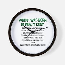 Price Check 1964 Wall Clock