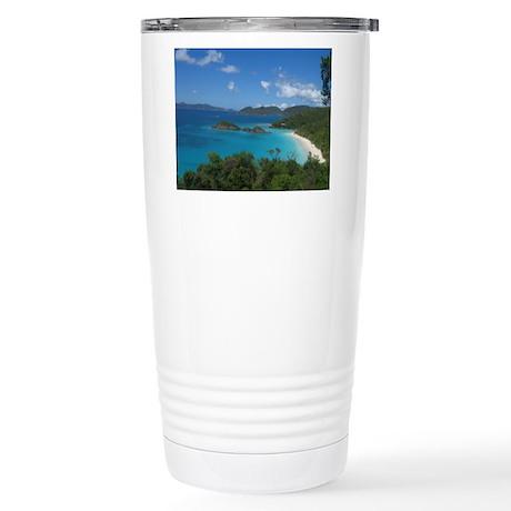 Ocean View Stainless Steel Travel Mug