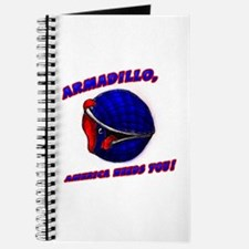 Armadillo Mankind Needs You Journal