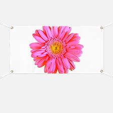 Gerbera (Bright Pink) Banner