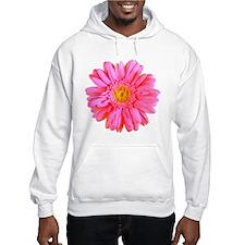 Gerbera (Bright Pink) Hoodie Sweatshirt