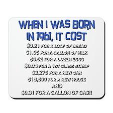 Price Check 1961 Mousepad