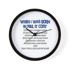 Price Check 1961 Wall Clock