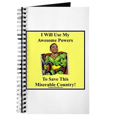 """""""Awesome Powers"""" Journal"""