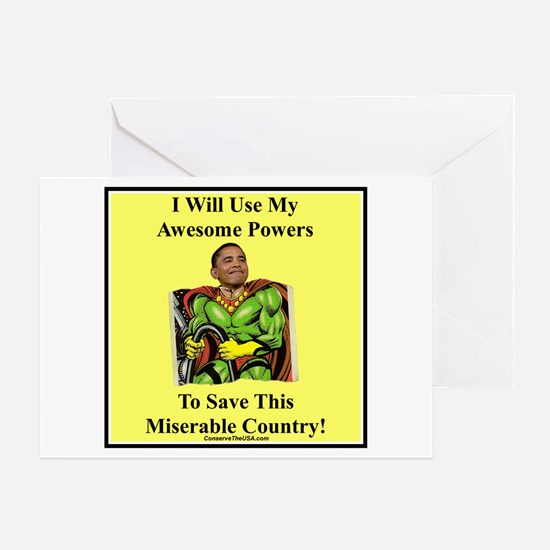 """Awesome Powers"" Greeting Card"