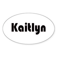 Kaitlyn Oval Decal