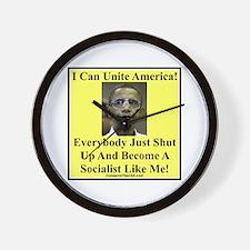 """Unite America?"" Wall Clock"