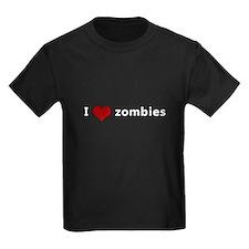 I Heart (Love) Zombies T