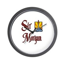 Sir Morgan Wall Clock