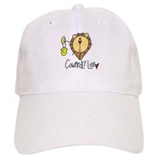 Cowardly Lion Baseball Cap
