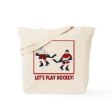 Hockey Bag Tote Bag