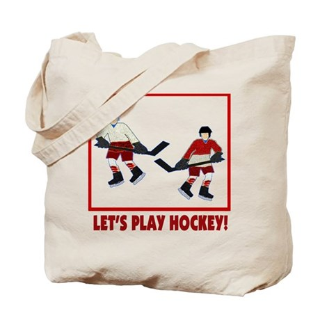 Hockey Bag Tote Bag