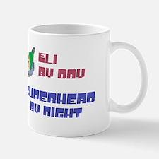 Eli - Super Hero by Night Mug