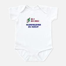 Eli - Super Hero by Night Infant Bodysuit