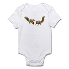 Squirrel Heart Infant Bodysuit