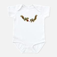 Squirrel Heart Infant Bodysuit