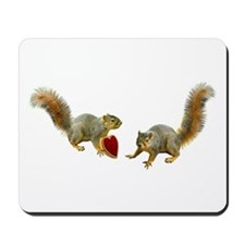 Squirrel Heart Mousepad