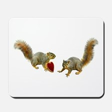 Squirrel Heart Mousepad