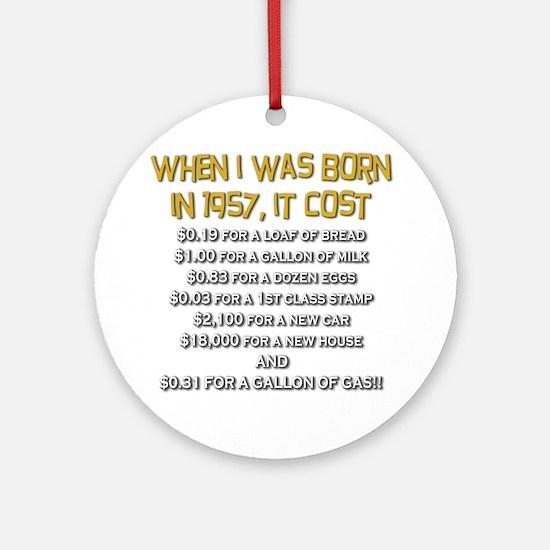 Price Check 1957 Ornament (Round)