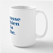 I Kiss my Dog on the Mouth (French) Mug