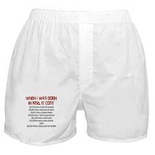 Price Check 1956 Boxer Shorts
