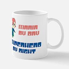 Maria - Super Hero by Night Mug