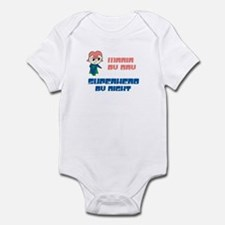 Maria - Super Hero by Night Infant Bodysuit