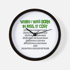Price Check 1955 Wall Clock