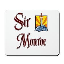 Sir Monroe Mousepad