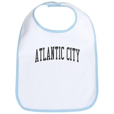 Atlantic City New Jersey NJ Black Bib