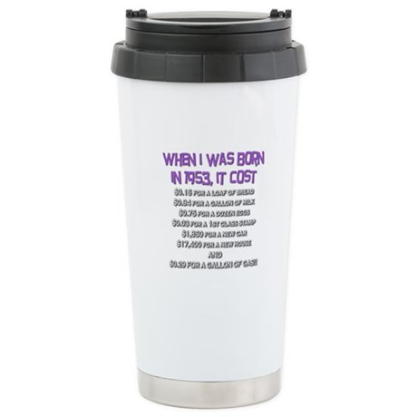 Price Check 1953 Stainless Steel Travel Mug