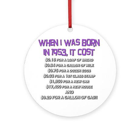 Price Check 1953 Ornament (Round)