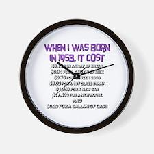 Price Check 1953 Wall Clock