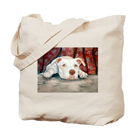 Siouxise a Pit Bull Tote Bag