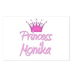Princess Monika Postcards (Package of 8)