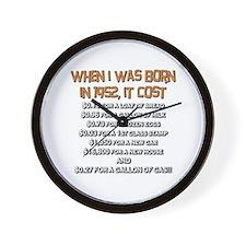 Price Check 1952 Wall Clock
