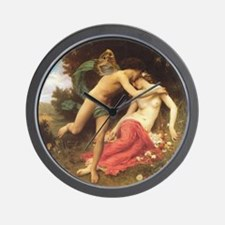 Flora and Zephyr Wall Clock
