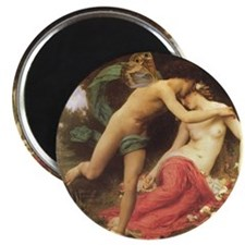 Cupid and Psyche by Adolphe-William Bouguereau