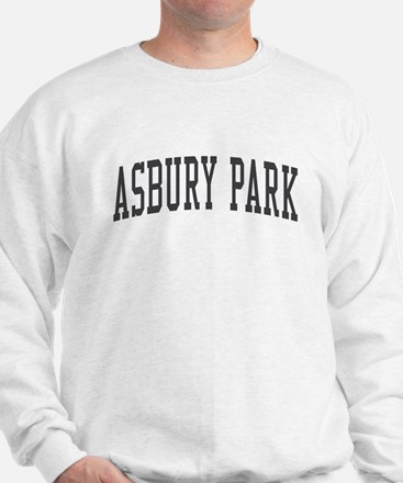 Asbury Park New Jersey NJ Black Sweatshirt